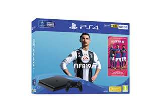 500GB FIFA 19 Bundle with Ultimate Team Icons and Rare Player Pack - PlayStation 4 [Edizione: Regno Unito]