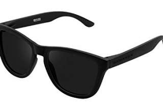 Hawkers Carbon Black Dark One Occhiali da Sole, Nero Negro, 60 Unisex-Adulto