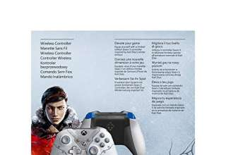 Microsoft Xbox One, Controller Wireless Brandizzato Gears of War - Limited, Grigio