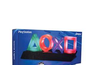 Paladone PP4140PS Lampada Playstation Icons, multicolore