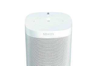 Sonos One Generazione 2 Smart Speaker Altoparlante Wi-Fi Intelligente con Alexa Comando Vocale & AirPlay, Bianco