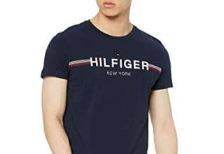 Tommy Hilfiger Corp Flag Tee T-Shirt Uomo
