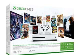 Xbox One S 1TB + 3 Mesi Gamepass + 3 Mesi Xbox Live Gold [Bundle]