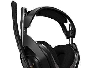 Astro Gaming Cuffia con Microfono Wireless A50 per XBOX ONE e Base di Ricarica di Quarta Generazione con Dolby Audio/Dolby Atmos, Compatibile con Xbox One, PC, Mac, Nero/Oro
