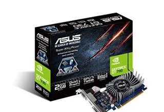 Asus GeForce GT 730 2 GB GDDR5, Scheda Grafica Low Profile, con I/O Port Brackets