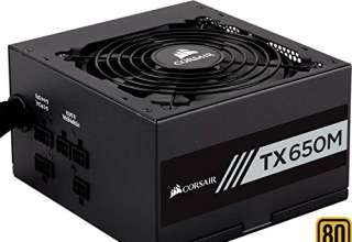Corsair TX650M Alimentatore PC, Semi Modulare, 80 Plus Gold, 650 W, EU
