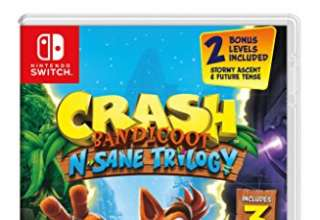 Crash Bandicoot N. Sane Trilogy - Nintendo Switch [Edizione: Regno Unito]