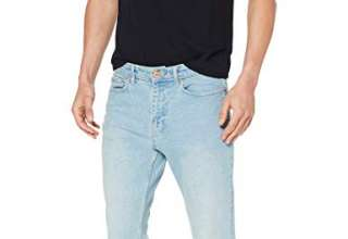 New Look Shaun Bleach Slim Jeans Skinny Uomo