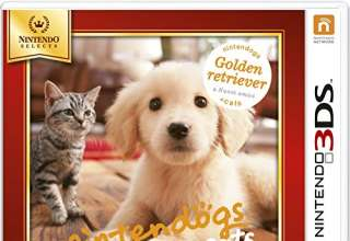 Nintendogs + Cats: Golden Retriever - Nintendo Selects - Nintendo 3DS