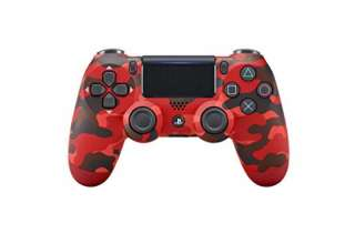 Playstation 4 - Ds4 Rosso (Red Camouflage)