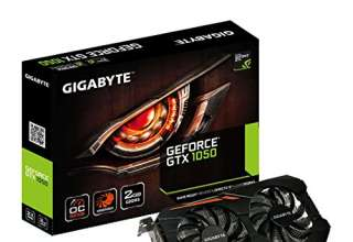 Scheda Video nVidia Gigabyte GTX1050 OC 2GB [GV-N1050OC-2GD]