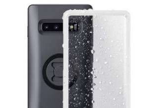 SP Connect Weather Cover Samsung Galaxy S10+, Custodia per Cellulare Unisex, Nero, Plus